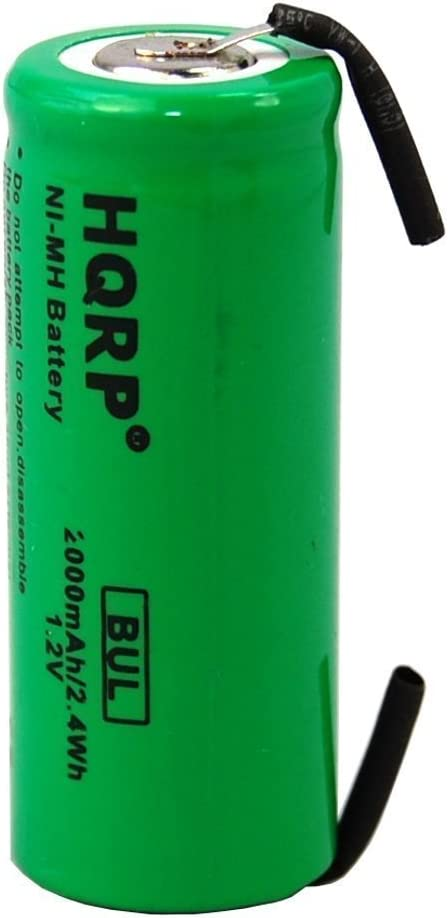 HX7800 Cepillo de Dientes HP500 HP510 HQRP Bater/ía 42mm para Philips Sonicare HP610 HP735 HP355 HP505 HX2575 HP405 HP710