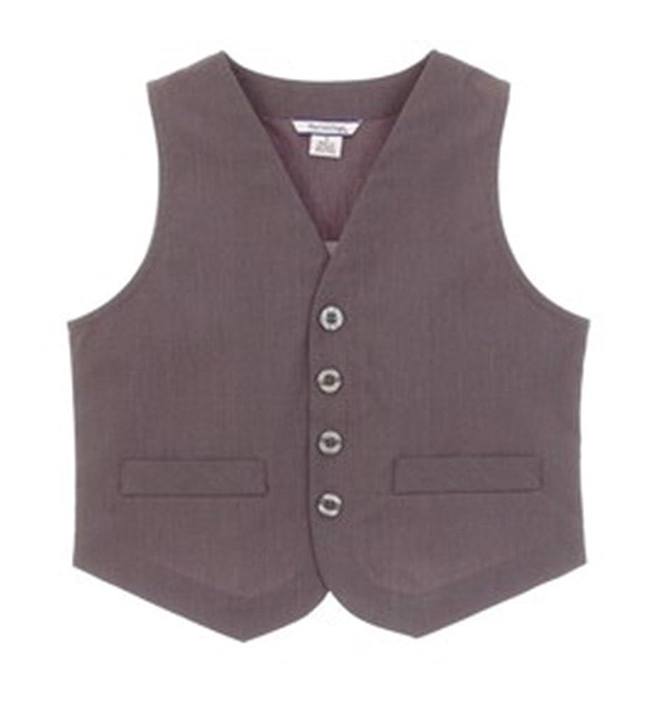 Hartstrings Little Boys Glen Plaid Woven Vest