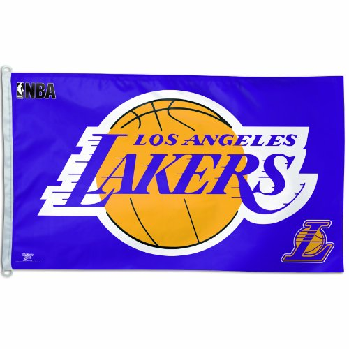 NBA Los Angeles Lakers 3-by-5 Foot Flag