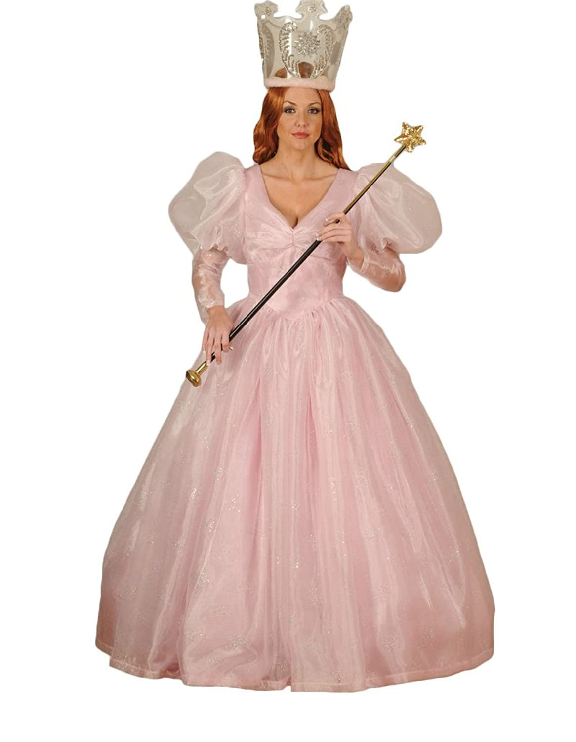 Amazon.com: Women's Glinda the Good Witch Dress Theater Costume ...