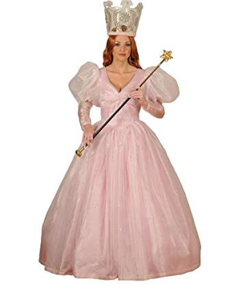 Womenu0027s Glinda the Good Witch Dress Theater Costume Small Pink  sc 1 st  Amazon.com & Amazon.com: Womenu0027s Glinda the Good Witch Dress Theater Costume ...