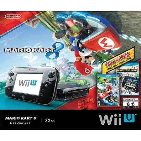 Nintendo Mario Kart 8 Deluxe Set with DLC Wii U Bundle (Best Wii Exclusive Games)