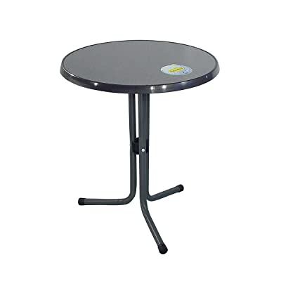 greemotion Table de jardin ronde bistrot – Table de balcon ...