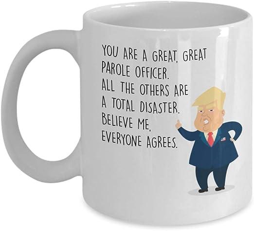 Funny Mug Birthday Gift for Mom Donald Trump Great Mother Coffee Mug Tee Cup
