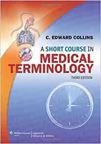 medical terminology a short course paperback