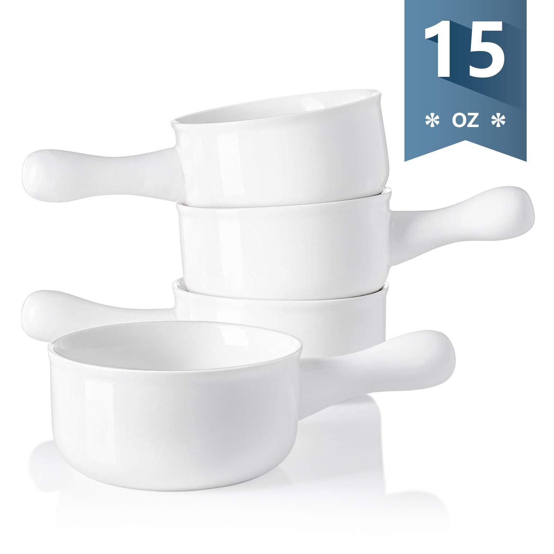 Cuencos para sopa (porcelana), Blanco