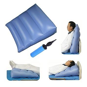 Almohada hinchable cuña posición corporal reflujo ácido, cuña de ...