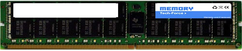 Memory Tech-Force 809082-091 16GB PC4-19200 DDR4-2400Mhz 2Rx4 1.2v ECC Registered RDIMM Equivalent to OEM PN # 809082-091
