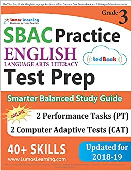 photo about 3rd Grade Language Arts Assessment Printable referred to as SBAC Attempt Prep: Quality 3 English Language Arts Literacy (ELA)