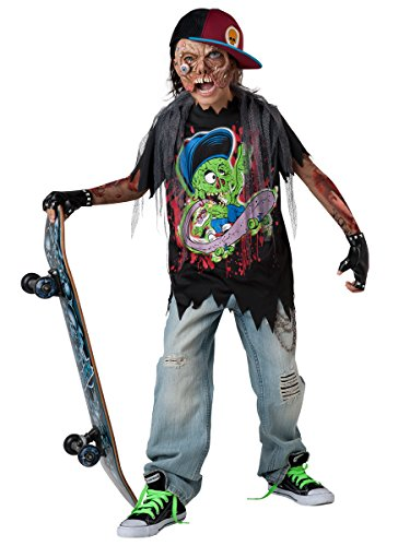 InCharacter Costumes Zombie Sk8r Costume, Size 6/Small (Zombie Kid Costume)