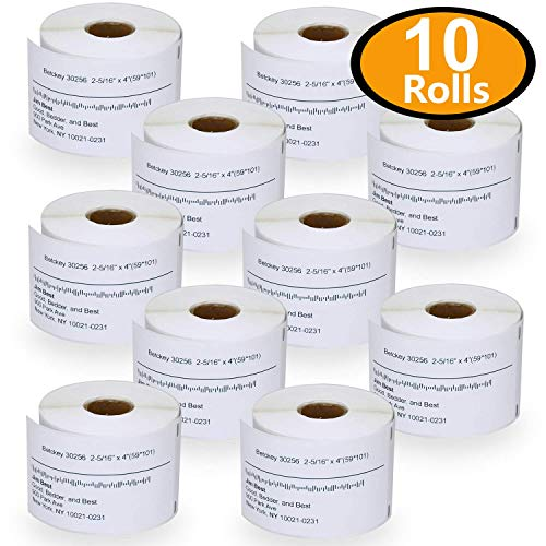 DYMO® LabelWriter® 30256 White 100 Rolls Shipping Thermal Labels Multipurpose