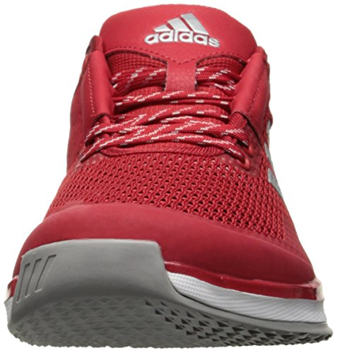 adidas Performance Herren Speed ​�?.0 Cross-Trainer Schuh Power Rot / Metallic Silber / Weiß