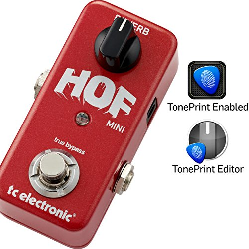 TC Electronics Hall of Fame Mini Reverb HOF w/ 2 Cables