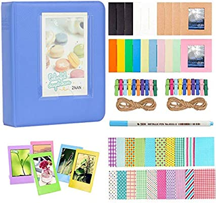 Anter Photo Album Accesorios para Fujifilm Instax Mini Camera, HP ...