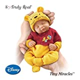 Fiorenza Biancheri Tiny Miracles Winnie The Pooh Night, Night Pooh Realistic Sleeping Baby Doll With Sleeper by Ashton Drake