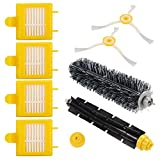 XCSOURCE 8PCS Accessories for iRobot Roomba 700 Series, 760/770/780/790 Vacuum Cleaning Robots Replenishment Parts Spare Brushes Kit HS967