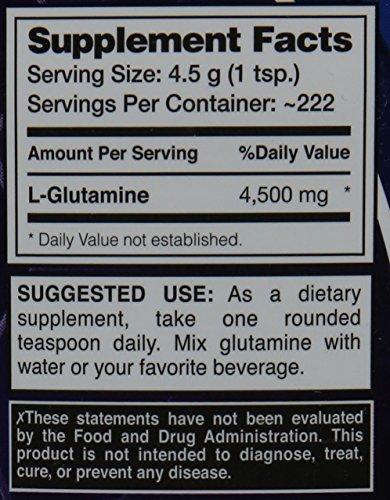 Dymatize 100% Pure Pharmaceutical Grade Glutamine