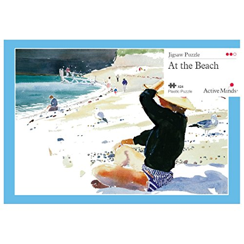 Active Minds 24 Piece at The Beach Jigsaw Puzzle | Specialist Alzheimers / Dementia Activities & Games