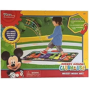 Amazon Com Disney Mickey Mouse Clubhouse Music Mat