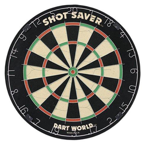Dart World 83752 Shot Saver Tournament Quality Bristle Dartb
