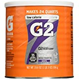 Gatorade Perform G2 02 Perform Thirst Quencher Instant Powder Grape Drink 19.6 Oz. (Pack of 3)