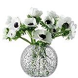 LSA International Tweed Vase, H6'', Grey