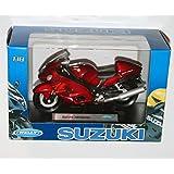 Welly - SUZUKI HAYABUSA Die Cast Motorbike Model Scale 1:18 by Welly