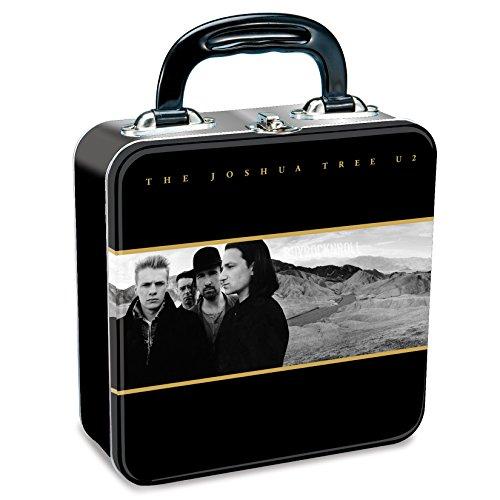 U2 Collectible: 2010 Vandor The Joshua Tree Album Artwork Tin Tote Lunch Box