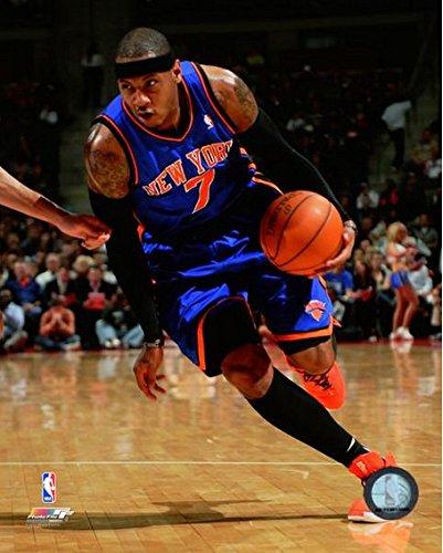 Carmelo Anthony New York Knicks NBA Action Photo (Size: 8