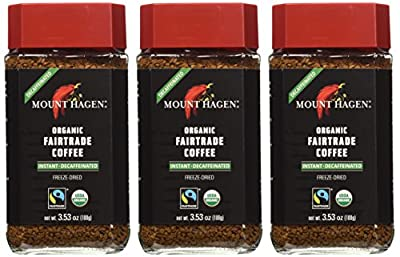 Mount Hagen: Organic Café Decaffeinated Freeze Dried Instant Coffee by Mount Hagen