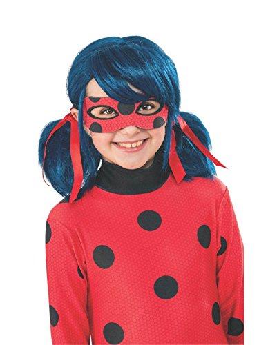 Rubies Costume Miraculous Ladybug Kids Costume Wig ()