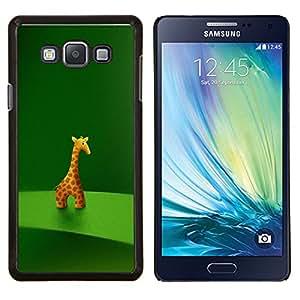 """Be-Star Único Patrón Plástico Duro Fundas Cover Cubre Hard Case Cover Para Samsung Galaxy A7 / SM-A700 ( Animal carácter de la jirafa Estatuilla Arte Dibujo de la historieta"""" )"""