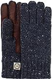UGG Men's Knit Gloves w/ Smart Leather Palm Graphite Heather SM/MD