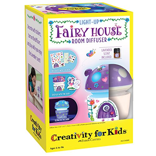 Creativity for Kids Fairy House Scented Night Light - Night Lights for Kids by Creativity for Kids