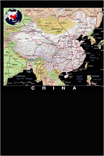 Modern Day China Map.Modern Day Color Map Of China Journal Take Notes Write Down