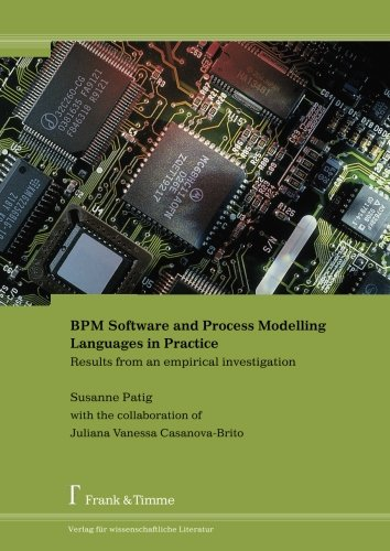 BPM Software and Process Modelling Languages in Practice: Results from an empirical investigation