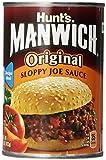 Hunt's Manwich Sloppy Joe Sauce, Original, 15 Oz (Pack of 3)