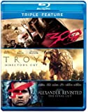 Alexander Revisited / Troy / 300 (Triple-Feature) [Blu-ray]
