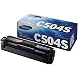 Samsung SU025A CLT-C504S Toner Cartridge, Cyan, Pack of 1