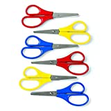 Primary Handle School Scissors - Kid's School Supplies - 12 per Pack - From Fun365