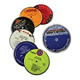 Vintage Record Coasters - Upcycled Vintage Vinyl LP Records - Set of 6...