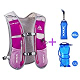 AONIJIE Outdoor Sport Bag Camping Backpack Cycling Running Hydration Vest Pack 1.5L Water Bladder 600ML Water Bottle(Optional)