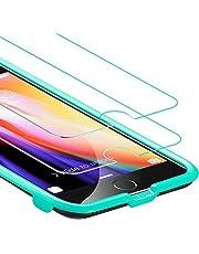 ESR Pellicola iPhone 8/iPhone 7 [2 Packs][Kit d'Installazione Gratis], Pellicola Vetro Temperato [Anti-Graffo/Olio/Impronta] con 9H Durezza Protezione Elevata per iPhone 8/7/6S/6 da 4.7 Pollici.