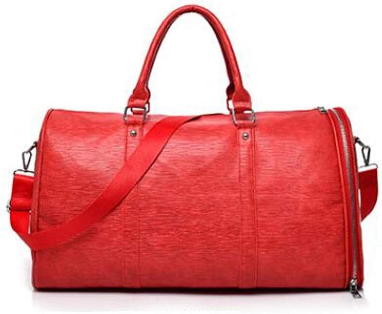 Portable Duffel Training Gym Bag ZHICHUANG Duffel Bag Female Hand-held Korean Version of Short-Distance Large-Capacity Travel Bag Large Size: 482428cm Travel Duffel Bag for Men and Women