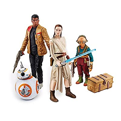 Star Wars: The Force Awakens, Takodana Encounter 3.75 Inch Action Figure Set [Maz Kanata, Finn, Rey, and BB-8]: Toys & Games