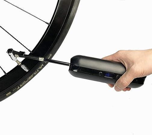 Mini Bomba de Bicicleta Portátil De carga USB bicicleta eléctrica ...