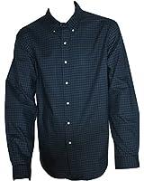 Ralph Lauren Men's Shirt Long Sleeve Moxford1 Green & Blue Plaid XXL