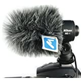Micover Slipover Windscreen for Nikon ME-1 (Stereo Microphone)