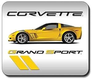 "Corvette C6 Grand Sport Coupe Mousepad 8""x9"""