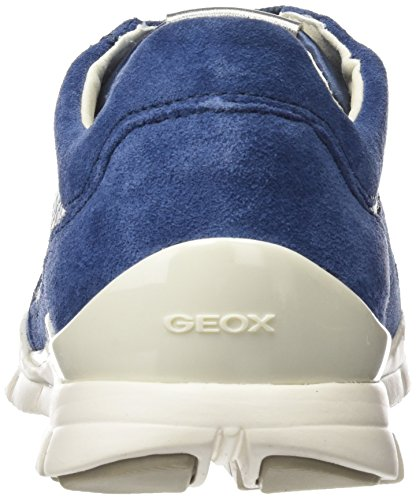 Grey Sukie Femme A Geox lt Sneakers Basses denim Bleu D qSHnfnw4
